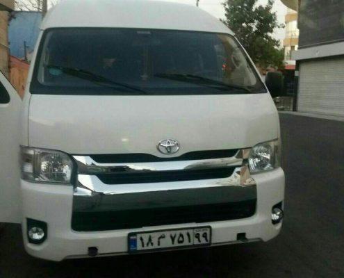 اجاره ون در کرج و استان البرز